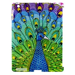 Peacock Bird Animation Apple Ipad 3/4 Hardshell Case (compatible With Smart Cover) by Simbadda