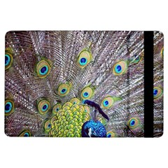 Peacock Bird Feathers Ipad Air Flip by Simbadda