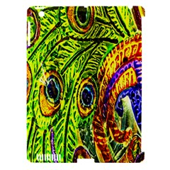 Peacock Feathers Apple Ipad 3/4 Hardshell Case (compatible With Smart Cover) by Simbadda