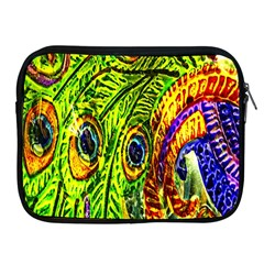 Peacock Feathers Apple Ipad 2/3/4 Zipper Cases by Simbadda