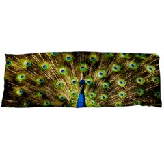 Peacock Bird Body Pillow Case (dakimakura) by Simbadda