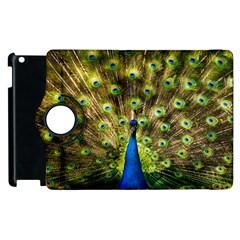 Peacock Bird Apple Ipad 2 Flip 360 Case by Simbadda
