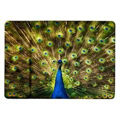 Peacock Bird Samsung Galaxy Tab 10 1  P7500 Flip Case by Simbadda