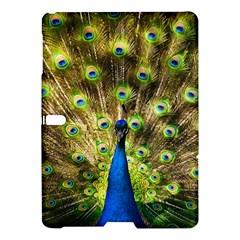 Peacock Bird Samsung Galaxy Tab S (10 5 ) Hardshell Case  by Simbadda