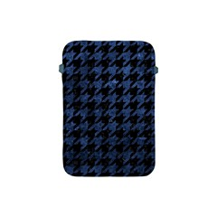 Houndstooth1 Black Marble & Blue Stone Apple Ipad Mini Protective Soft Case by trendistuff