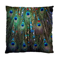 Peacock Jewelery Standard Cushion Case (two Sides)