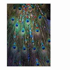 Peacock Jewelery Small Garden Flag (two Sides) by Simbadda