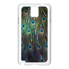 Peacock Jewelery Samsung Galaxy Note 3 N9005 Case (white) by Simbadda