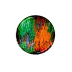 Watercolor Grunge Background Hat Clip Ball Marker (4 Pack) by Simbadda