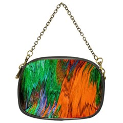 Watercolor Grunge Background Chain Purses (one Side)  by Simbadda