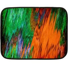 Watercolor Grunge Background Fleece Blanket (mini) by Simbadda