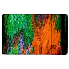 Watercolor Grunge Background Apple Ipad 2 Flip Case by Simbadda
