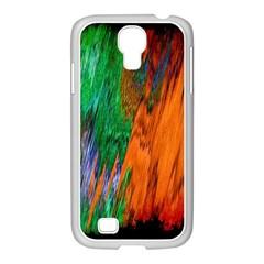 Watercolor Grunge Background Samsung Galaxy S4 I9500/ I9505 Case (white) by Simbadda