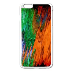 Watercolor Grunge Background Apple Iphone 6 Plus/6s Plus Enamel White Case by Simbadda