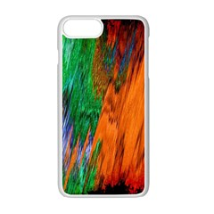 Watercolor Grunge Background Apple Iphone 7 Plus White Seamless Case by Simbadda