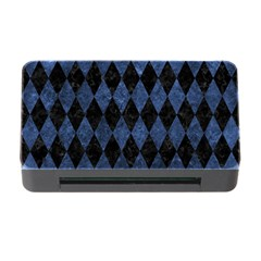 Diamond1 Black Marble & Blue Stone Memory Card Reader With Cf by trendistuff