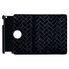 BRK2 BK-MRBL BL-STONE Apple iPad 2 Flip 360 Case