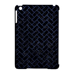 Brick2 Black Marble & Blue Stone Apple Ipad Mini Hardshell Case (compatible With Smart Cover) by trendistuff