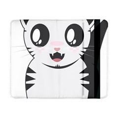 Meow Samsung Galaxy Tab Pro 8 4  Flip Case by evpoe