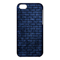 Brick1 Black Marble & Blue Stone (r) Apple Iphone 5c Hardshell Case by trendistuff