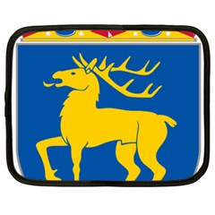 Coat Of Arms Of Aland Netbook Case (xl)  by abbeyz71
