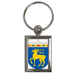Coat Of Arms Of Aland Key Chains (rectangle)  by abbeyz71