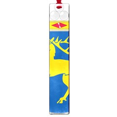 Coat Of Arms Of Aland Large Book Marks by abbeyz71