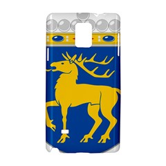 Coat Of Arms Of Aland Samsung Galaxy Note 4 Hardshell Case by abbeyz71