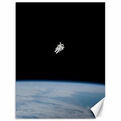 Amazing Stunning Astronaut Amazed Canvas 18  X 24   by Simbadda