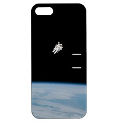Amazing Stunning Astronaut Amazed Apple Iphone 5 Hardshell Case With Stand by Simbadda