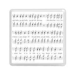 Jingle Bells Song Christmas Carol Memory Card Reader (square)  by Simbadda