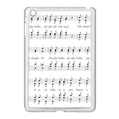 Jingle Bells Song Christmas Carol Apple Ipad Mini Case (white) by Simbadda