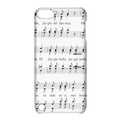 Jingle Bells Song Christmas Carol Apple Ipod Touch 5 Hardshell Case With Stand by Simbadda
