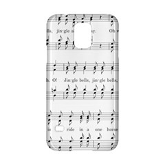 Jingle Bells Song Christmas Carol Samsung Galaxy S5 Hardshell Case  by Simbadda