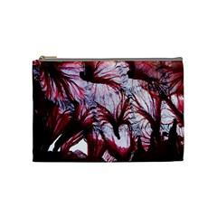 Jellyfish Ballet Wind Cosmetic Bag (medium)  by Simbadda