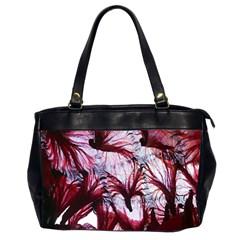 Jellyfish Ballet Wind Office Handbags (2 Sides)  by Simbadda