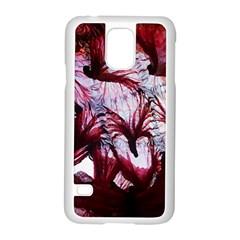 Jellyfish Ballet Wind Samsung Galaxy S5 Case (white) by Simbadda