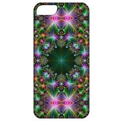 Digital Kaleidoscope Apple Iphone 5 Classic Hardshell Case by Simbadda
