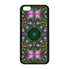 Digital Kaleidoscope Apple Iphone 5c Seamless Case (black) by Simbadda
