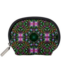 Digital Kaleidoscope Accessory Pouches (small)  by Simbadda