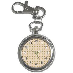Pattern Background Retro Key Chain Watches by Simbadda