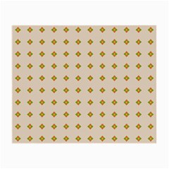 Pattern Background Retro Small Glasses Cloth (2 Side) by Simbadda