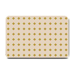 Pattern Background Retro Small Doormat  by Simbadda