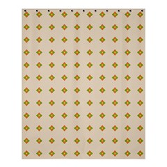 Pattern Background Retro Shower Curtain 60  X 72  (medium)  by Simbadda