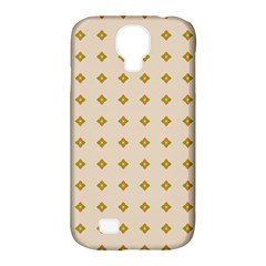 Pattern Background Retro Samsung Galaxy S4 Classic Hardshell Case (pc+silicone) by Simbadda