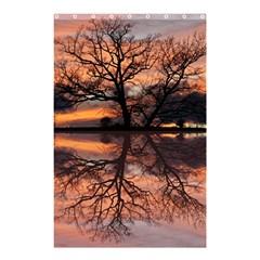 Aurora Sunset Sun Landscape Shower Curtain 48  x 72  (Small)