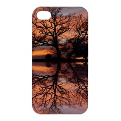 Aurora Sunset Sun Landscape Apple Iphone 4/4s Hardshell Case by Simbadda