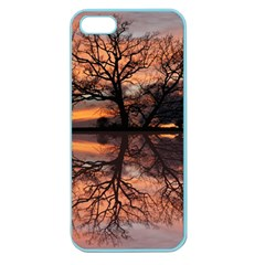 Aurora Sunset Sun Landscape Apple Seamless Iphone 5 Case (color) by Simbadda