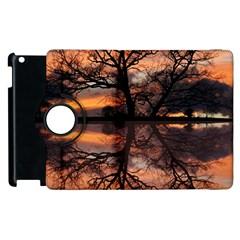 Aurora Sunset Sun Landscape Apple Ipad 3/4 Flip 360 Case by Simbadda