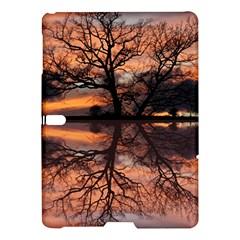 Aurora Sunset Sun Landscape Samsung Galaxy Tab S (10 5 ) Hardshell Case  by Simbadda